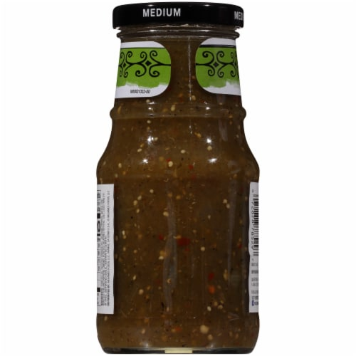 Herdez Medium Roasted Salsa Verde Perspective: back