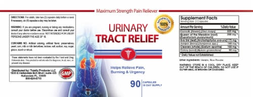 Urinary Tract Relief (90 capsules) Perspective: back