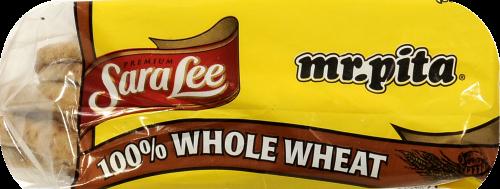 Sara Lee Mr Pita 100% Whole Wheat Pita Bread Perspective: back