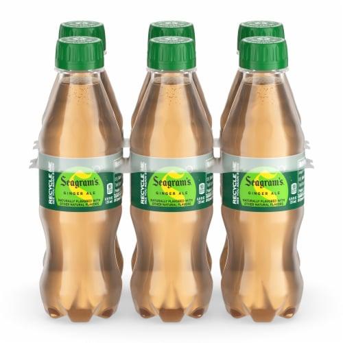 Seagram's Ginger Ale Soda Perspective: back