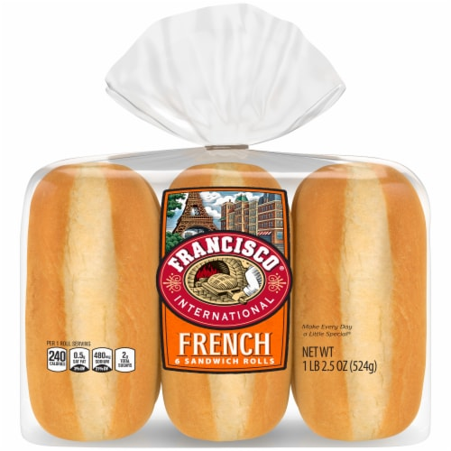 Francisco® International French Sandwich Rolls Perspective: back