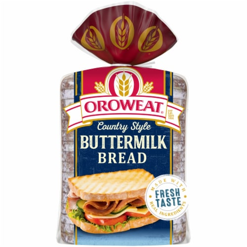 Oroweat Country Buttermilk Bread Perspective: back