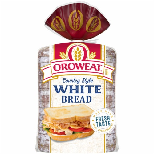 Oroweat® Country White Bread Perspective: back