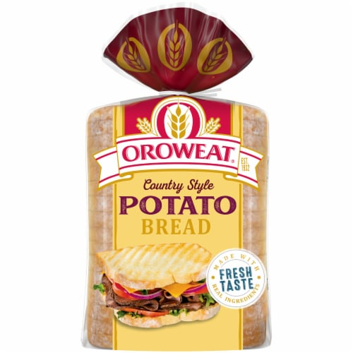Oroweat® Country Style Potato Bread Perspective: back