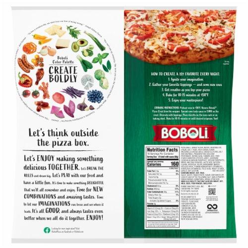 Boboli Pizza Crust Perspective: back