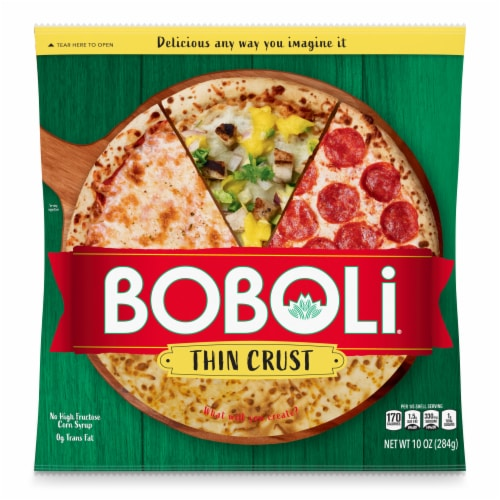Boboli 12-Inch Thin Pizza Crust Perspective: back