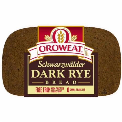 Oroweat Schwarzwalder Rye Bread Perspective: back