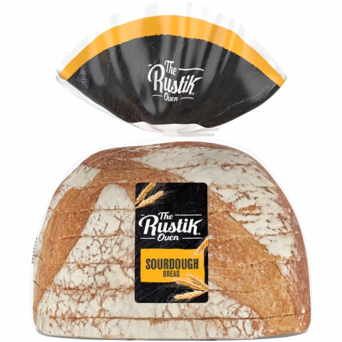 The Rustik Oven Sourdough Bread Perspective: back
