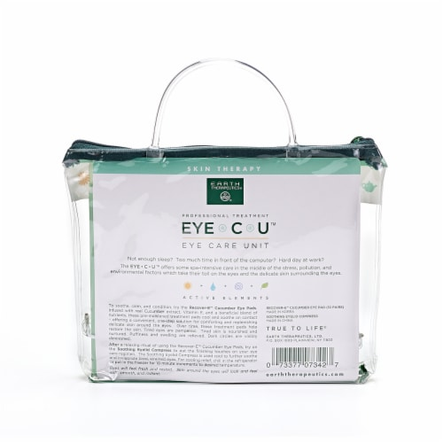 Earth Therapeutics Cucumber Eye Care Unit Kit Perspective: back