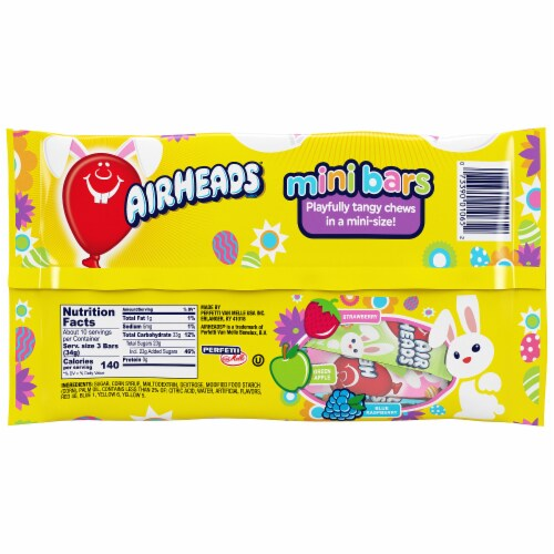 Airheads Easter Assorted Mini Bars Perspective: back