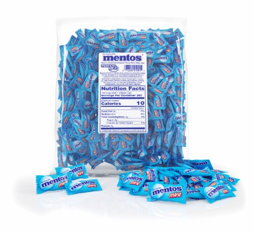 Mentos Chewy Mint Candy Perspective: back