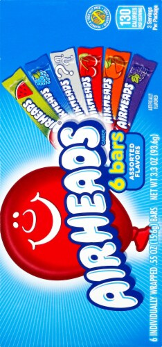 Airheads® Assorted Flavors Theater Box Perspective: back