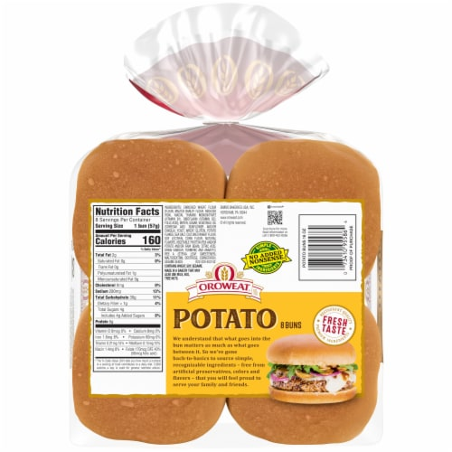 Oroweat® Potato Buns Perspective: back