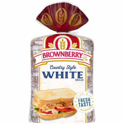 Brownberry® Country White Bread Perspective: back