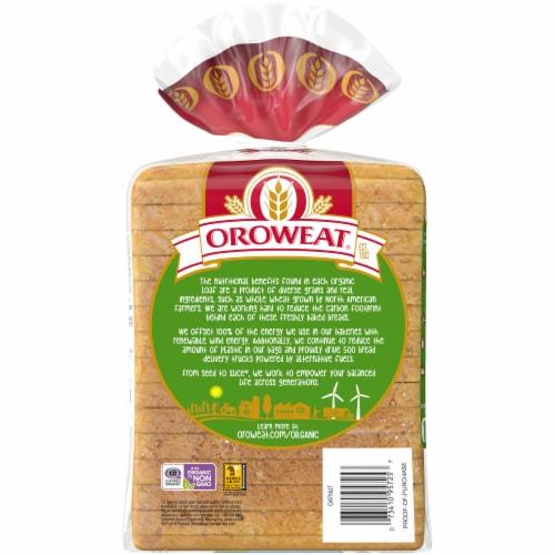 Oroweat® Organic Oatnut Bread Perspective: back