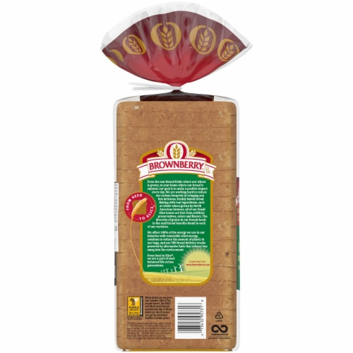 Brownberry® Oatnut® Small Slice Bread Perspective: back