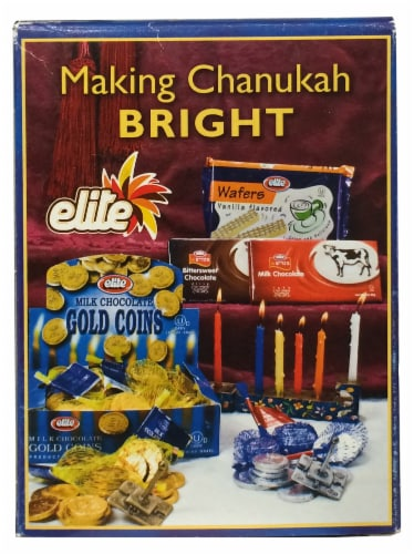 Promised Land Chanukah Candles Perspective: back