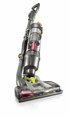Hoover® Air Steerable Pet Bagless Upright Vacuum - Black Perspective: back