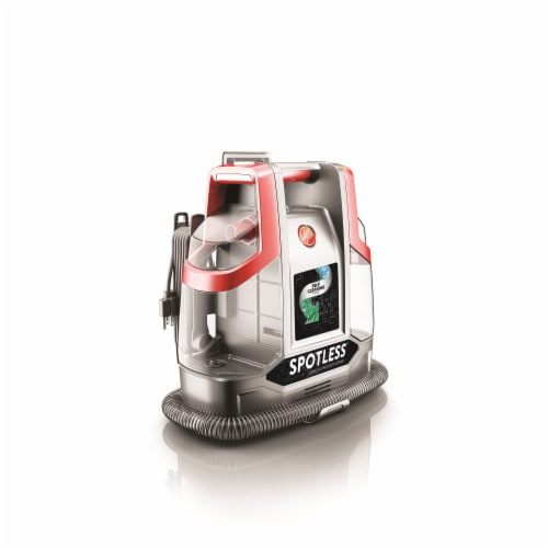Hoover® Spotless Spot Cleaner - Red/Silver Perspective: back