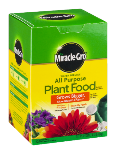 Miracle-Gro All Purpose Plant Food Perspective: back