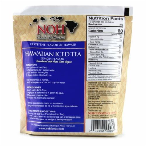 NOH Lemon Flavor Hawaiian Iced Tea Perspective: back