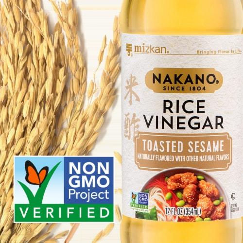 Nakano Toasted Sesame Rice Vinegar Perspective: back