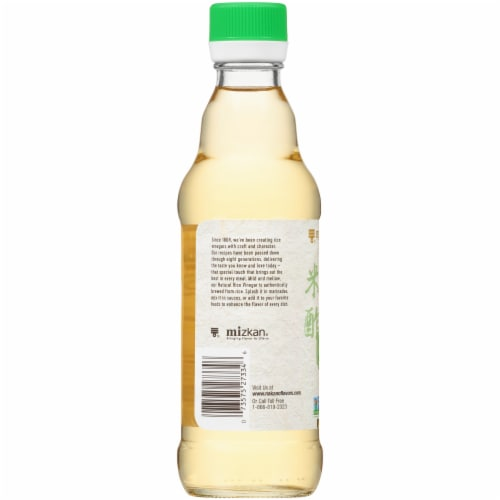 Mizkan Nakano All Natural Rice Vinegar Perspective: back