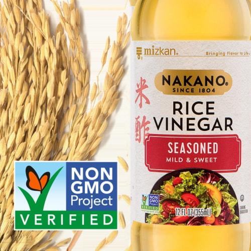 Nakano Seasoned Mild & Sweet Rice Vinegar Perspective: back