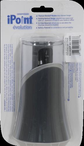 Westcott iPoint Evolution Pencil Sharpener - Black Perspective: back