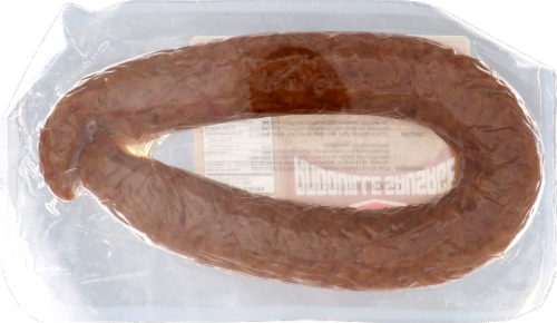 Klement's Spicy Andouille Sausage Perspective: back