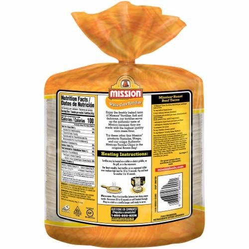 Mission Super Soft White Corn Tortillas Perspective: back