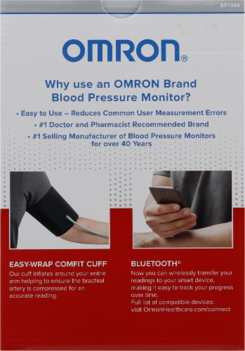 Omron® 7 Series Upper Arm Blood Pressure Monitor Perspective: back