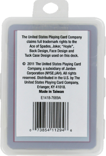 Hoyle® Waterproof Playing Cards Perspective: back