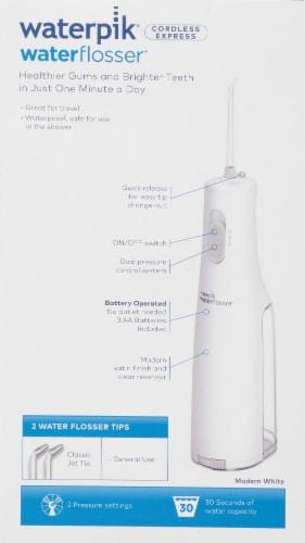 Waterpik® Cordless Express Water Flosser Perspective: back