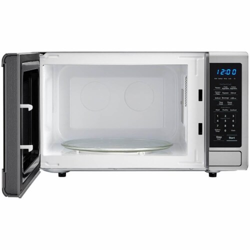 Sharp SMC1132CS 1.1 Cu. Ft. 1000W Stainless Steel Countertop Microwave Perspective: back