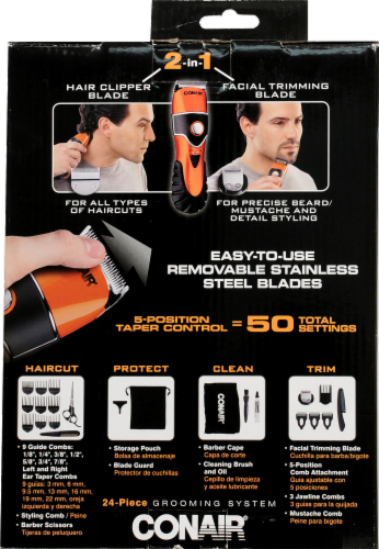 Conair The Chopper 2 in 1 Custom Styler Grooming System Perspective: back