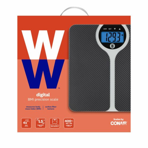 Weight Watchers® Digital Precision BMI Scale Perspective: back