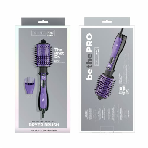 Conair InfinitiPro The Knot Dr. All-In-One Dryer Brush Perspective: back