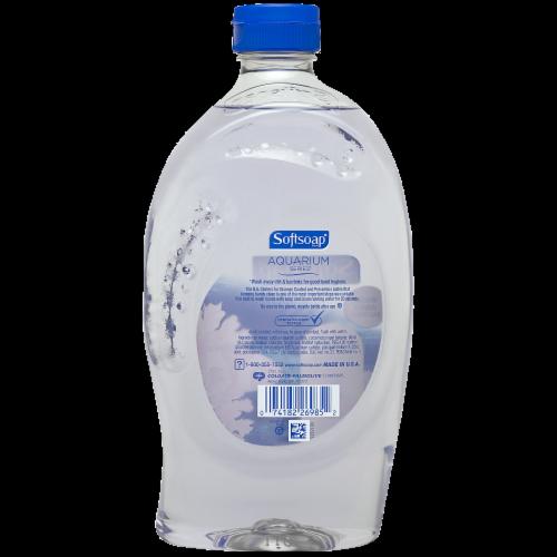 Softsoap Aquarium Liquid Hand Soap Refill Perspective: back