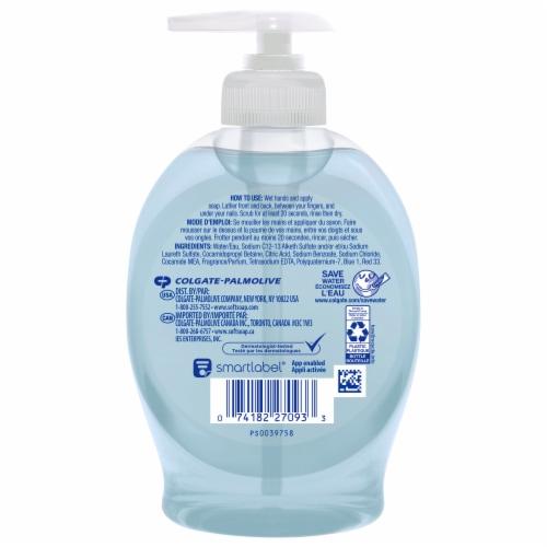 Softsoap Fresh Breeze Liquid Hand Soap Perspective: back
