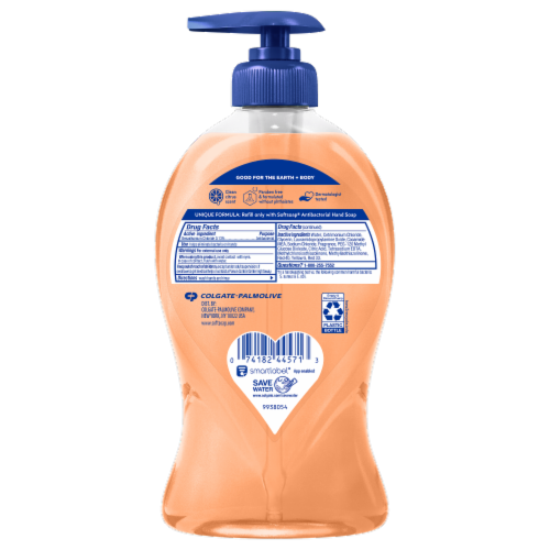 Softsoap Crisp Clean Antibacterial Hand Soap Perspective: back