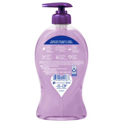 Softsoap Lavender and Chamomile Hand Soap Perspective: back