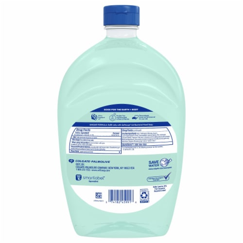 Softsoap Antibacterial Fresh Citrus Scent Hand Soap Refill Perspective: back