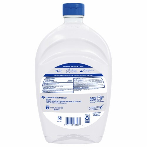 Softsoap® Antibacterial White Tea & Berry Fusion Hand Soap Refill Perspective: back