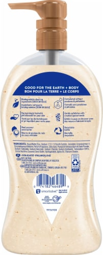 Softsoap® Coconut Butter Exfoliating Body Scrub Perspective: back