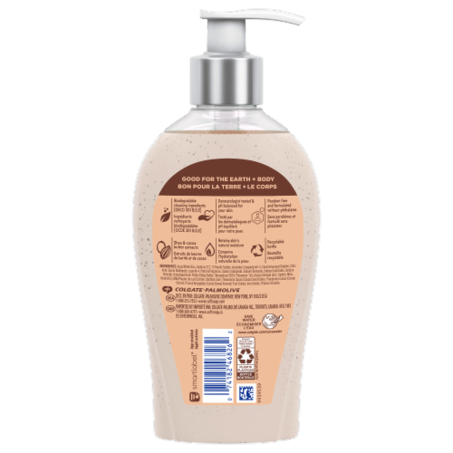 Softsoap Shea & Cocoa Butter Liquid Hand Soap Perspective: back