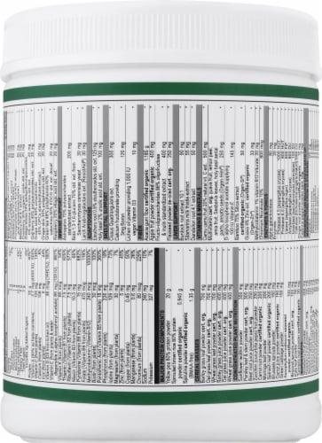 Vibrant Health Maximum Vibrance Vanilla Bean Multi Supplement Powder Perspective: back
