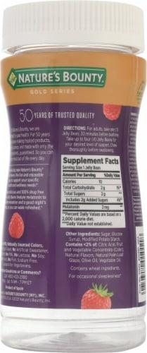 Nature's Bounty® Sleep Jelly Beans Mixed Berry Melatonin Supplement Perspective: back