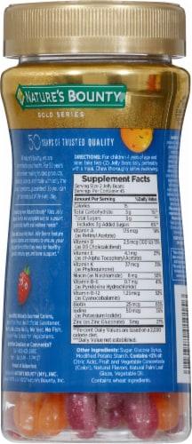Nature's Bounty® Kid's Multi Raspberry Orange Twist Jelly Beans Perspective: back
