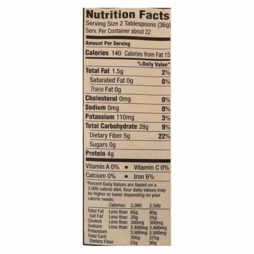 Arrowhead Mills - Organic Popcorn - Yellow - Case of 6 - 28 oz. Perspective: back